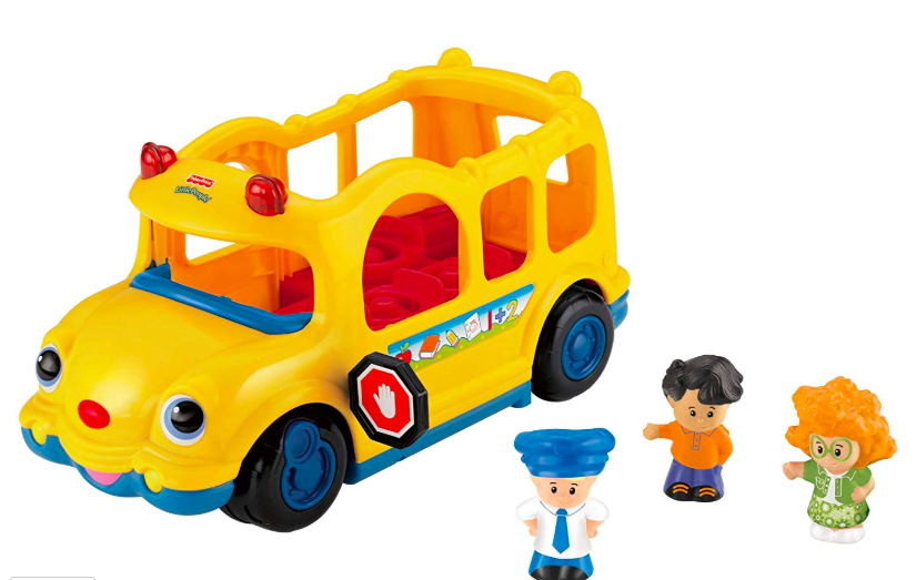 bus and little people